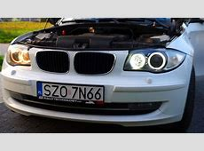 BMW E87 H8 LED DRL bulbs with CREE chips angel eyes