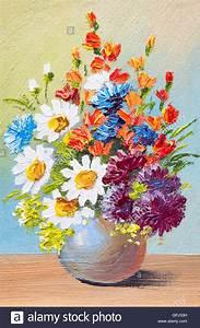 ölgemälde Blumen In Vase : zeichnen von blumen in einer vase aquarell abstrakte lgem lde stockfoto bild 117183797 alamy ~ Orissabook.com Haus und Dekorationen