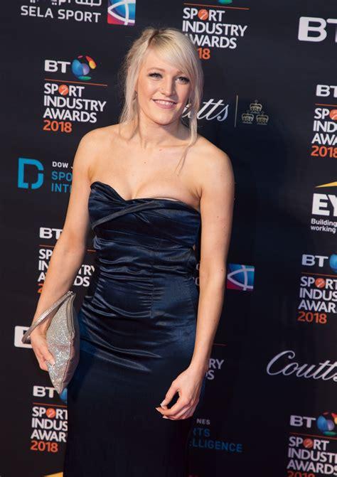 Elise Christie - BT Sport Industry Awards 2018 • CelebMafia