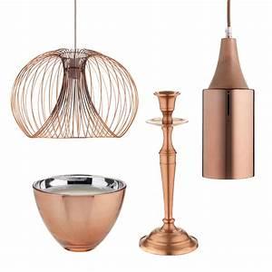 Sainsbury's cool copper accessories ELLE Decoration UK