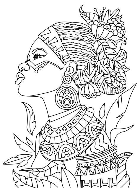 African Colorish: coloring book app for adults mandala