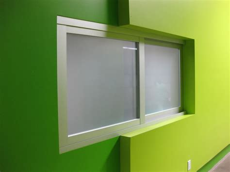 government public building interior sliding glass doors