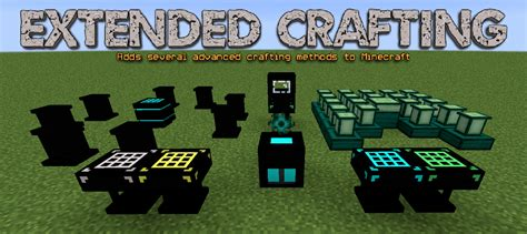 extended crafting mod    ways  craft items