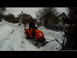 Aufsitzrasenmäher Mit Schneeschild : kubota gr2120 schneeschild hydraulisch youtube ~ Eleganceandgraceweddings.com Haus und Dekorationen