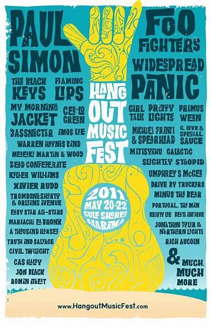 Festival Poster Hangout Posters Festivals Word Fest