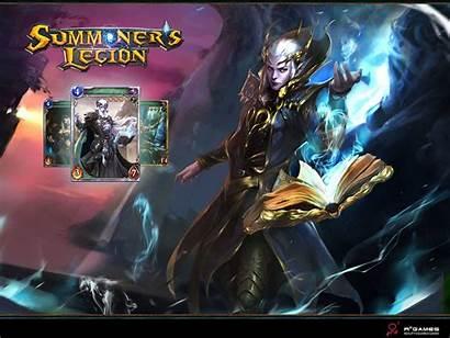 Legion Summoner Summoners Wallpapers Background Weapon Wwgdb
