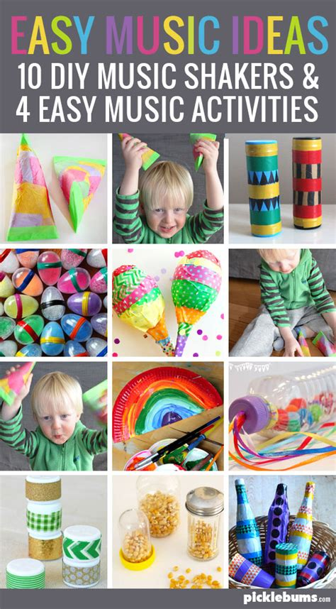 10 diy shakers and 4 shaker activities picklebums 832 | make a music shaker