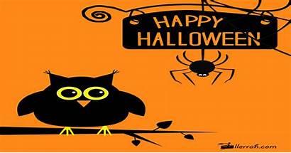 Halloween Owl Spider Meets Happy Cards Llerrah
