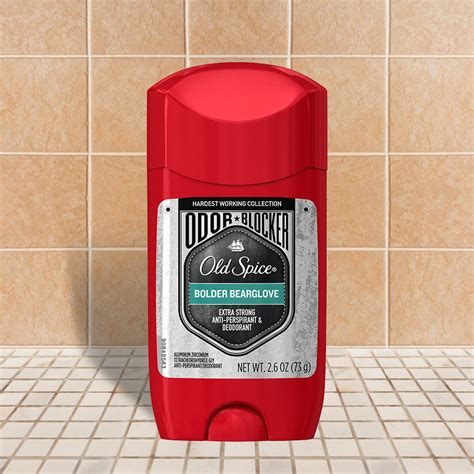 bolder bearglove hwc odor blocker invisible solid old spice