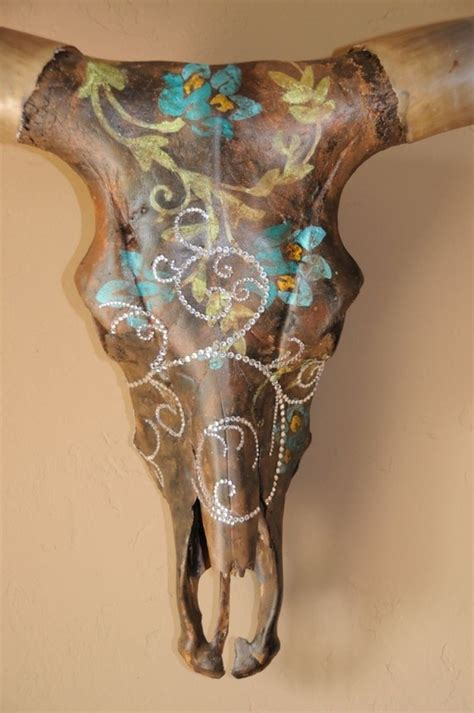 Decorated Cow Skulls by 25 Best Ideas About Longhorn Skulls On Deer