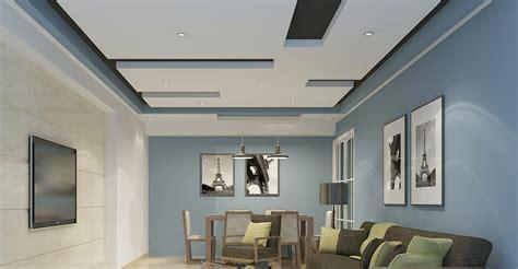 Residential False Ceiling Gypsum Board Drywall Then