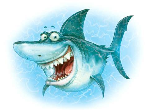Funny Animated Cartoon Shark
