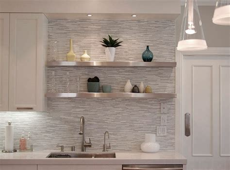 stylish glass wall shelves   home