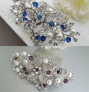 Hair Comb Ideas In Crystal And Rhinestone For Wedding