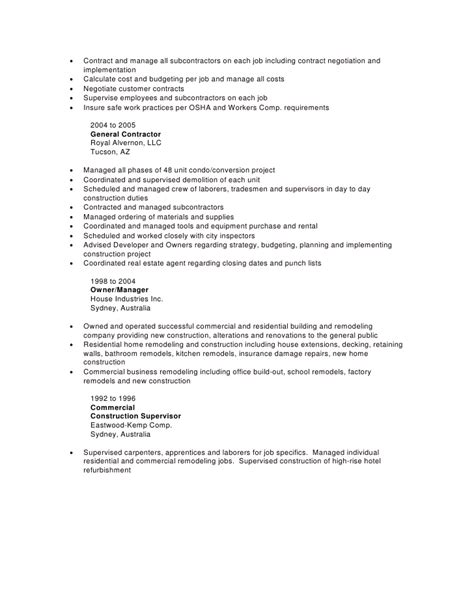 Future Goals In Resume by Amazing Commercial Contracts Manager Resume Gallery