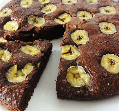 cuisine libanaise recette gâteau fondant chocolat banane aux fourneaux