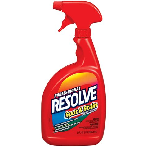 types of kitchen flooring shop resolve 32 oz carpet cleaning solution at lowes com