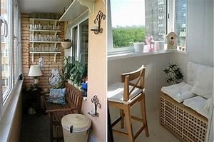 Balkon Bank Klein : kleiner balkon 40 kreative und praktische ideen ~ Michelbontemps.com Haus und Dekorationen
