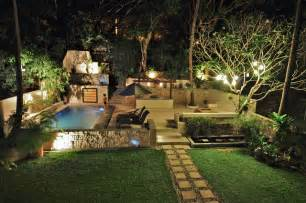 colonial kitchen ideas tropical garden with swimming pool and patio tropical