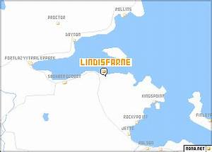 Image Gallery lindisfarne map