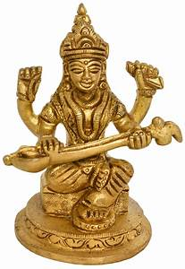 Goddess, Saraswati, Small, Statue