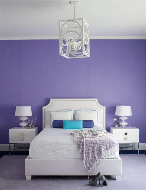 white  purple bedroom contemporary bedroom