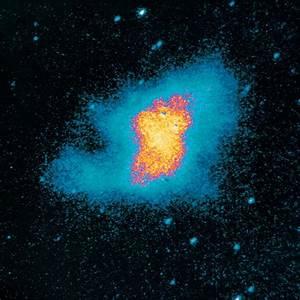 Ultraviolet image of the crab nebula supernova remnant ...