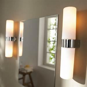 Miroir Castorama Salle De Bain : comment choisir le luminaire pour salle de bain ~ Dailycaller-alerts.com Idées de Décoration