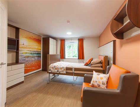 willowbrook care home bedroom design  islands