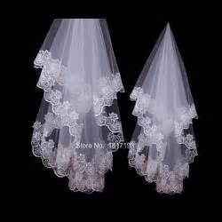 voile mariage sale wedding accessories veil voile mariage white one layer bridal veils cheap lace