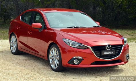 Cbu Mazda 3 Sedan Estimated Specs Price Unveiled