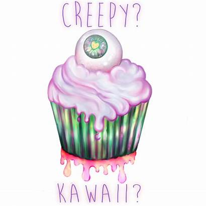 Kawaii Creepy Cupcake Eye Deviantart