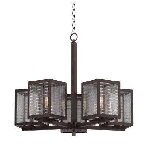 home decorators collection 5 light rubbed bronze