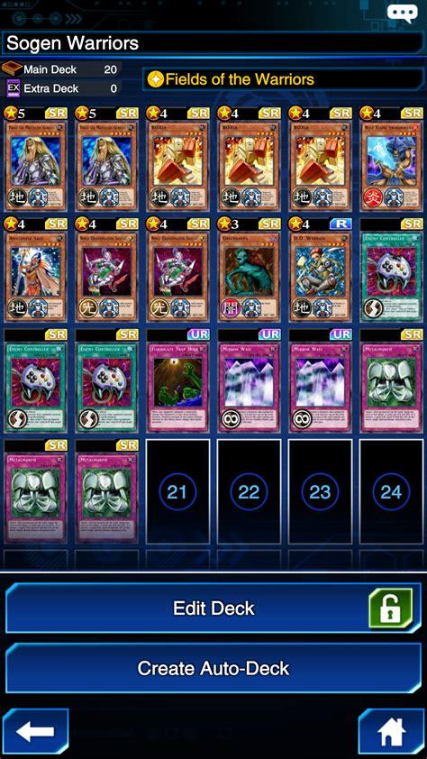 deck suggestions warrior imgur