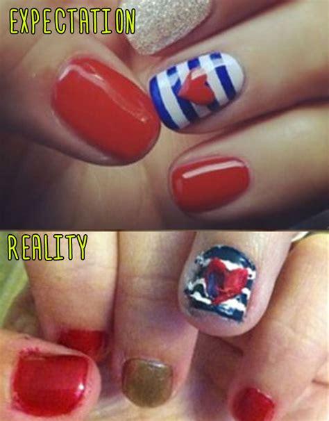 Nail Art Meme - 15 pinterest nail artists who aimed so high but failed so hard