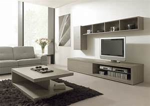 meuble tele salon maison et mobilier d39interieur With idee deco cuisine avec lit meuble