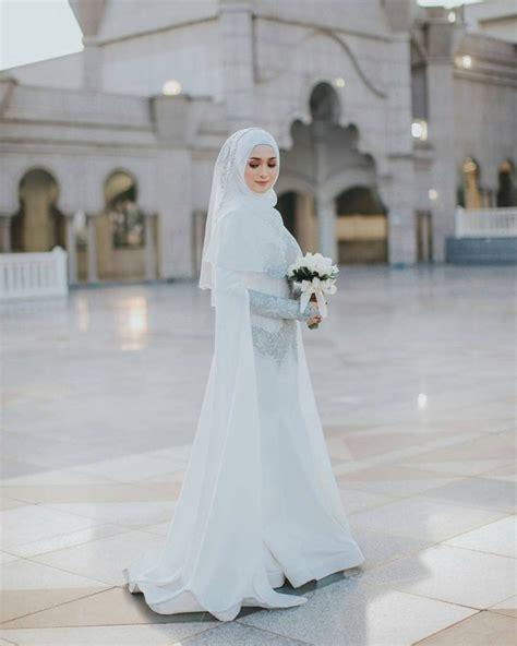 syarat gaun pengantin muslimah  syari seruniid