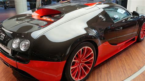 It is limited to five units. Spotted: Bugatti Veyron Super Sport - YugaTech   Philippines Tech News & Reviews