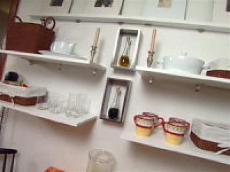 open shelf kitchen ideas clever kitchen ideas open shelves hgtv