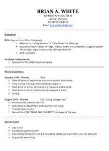 Donald Resume resume to work for donald