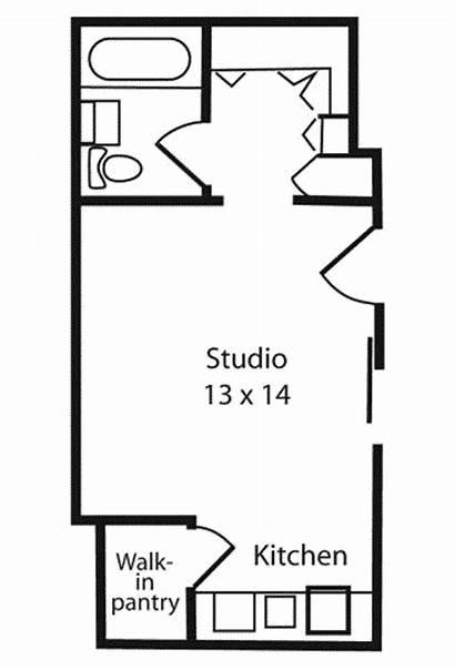 Studio Garage Apartment Plans Floor Plan Apartments