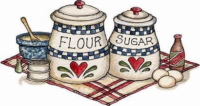 Kitchen Clipart Country Labels Clip Recipe Recipes