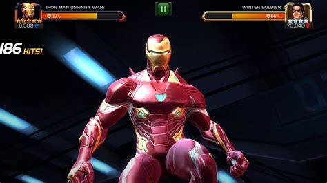 star iron man infinity war abilities  game play