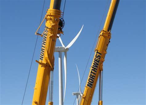 wind farm maintenance services northwest crane