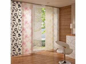 Flächenvorhang 80 Cm Breit : liedeco fl chenvorhang stoff print schiebevorhang kaufen ~ Buech-reservation.com Haus und Dekorationen