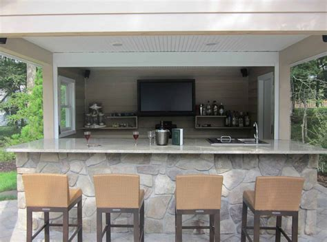 Outdoor Kitchens & Bars   Outdoor Bars Long Island