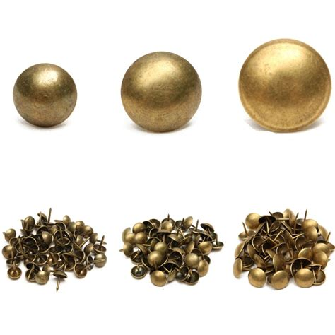 Upholstery Tacks by 50 100pcs Antique Upholstery Tacks Brass Nails Furniture