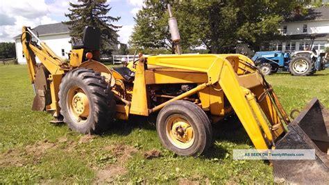 massey ferguson tractor loader backhoe  point rear pto