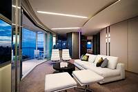 nice contemporary interior design ideas Modern Apartment Interior Design in Warm And Glamour Style ...