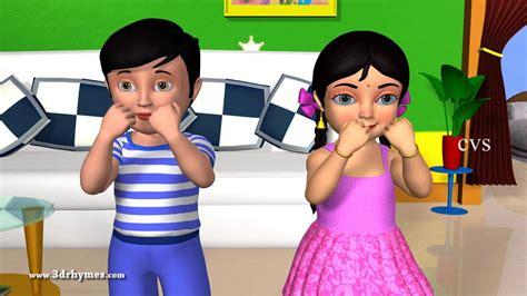 learn parts song 3d animation nursery rhyme 576 | maxresdefault